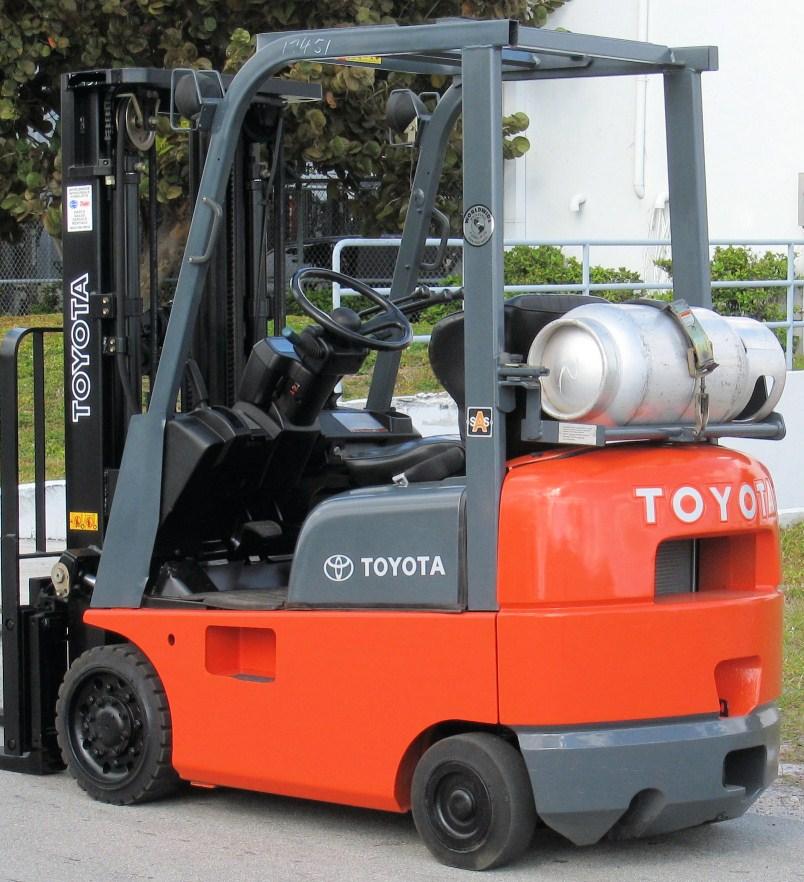 Toyota Dealers Miami: .: Toyota 7FGCU15