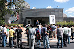 Manifestacion frente a Canal 9 en contra de la persecucion sindical