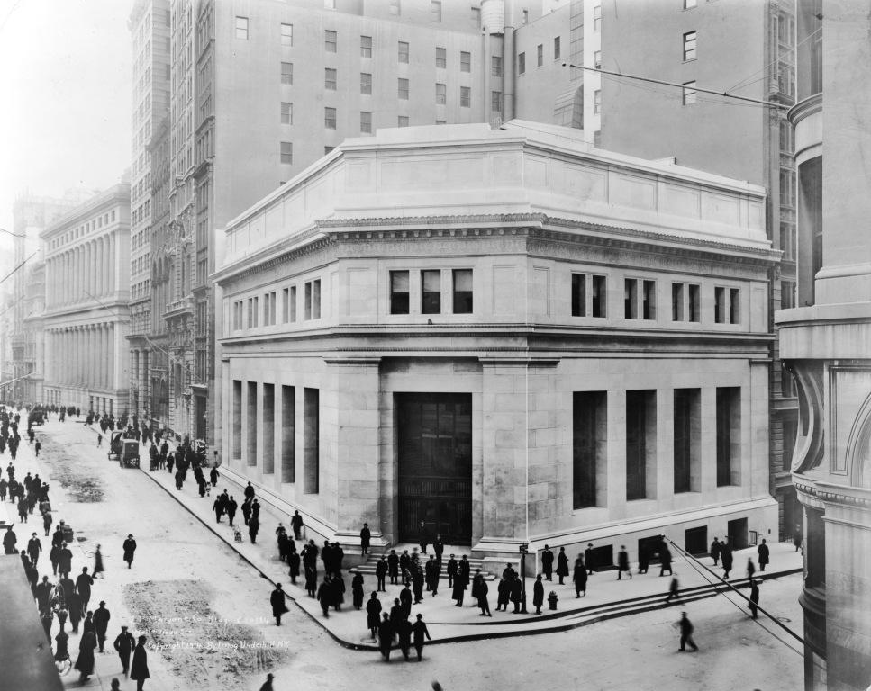 Daytonian in manhattan the 1914 j p morgan co building for New house company
