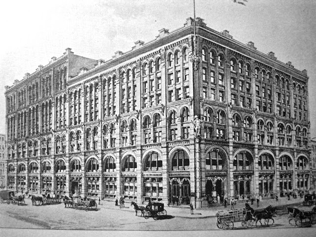 The landmarks preservation commission for Puck building
