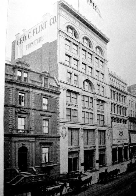 Daytonian In Manhattan The George C Flint Furniture Co Building No 43 West 23rd Street