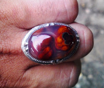 "Cincin Agate ""Otak/Janin"" No.1"