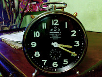Jam Loceng Meja Antik