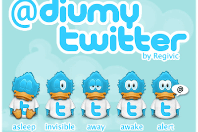 35 Beautiful Twitter Icons Sets 35 Beautiful Twitter Icons Sets adiumy twitter