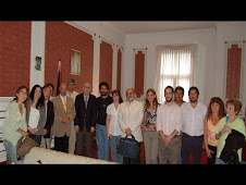 Embajador  Dr. Farid Suwwan y  representantes de la Mesa de Unidad Popular