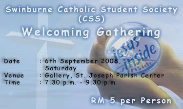 Attached below is the CSS Welcoming Gathering invitation card~