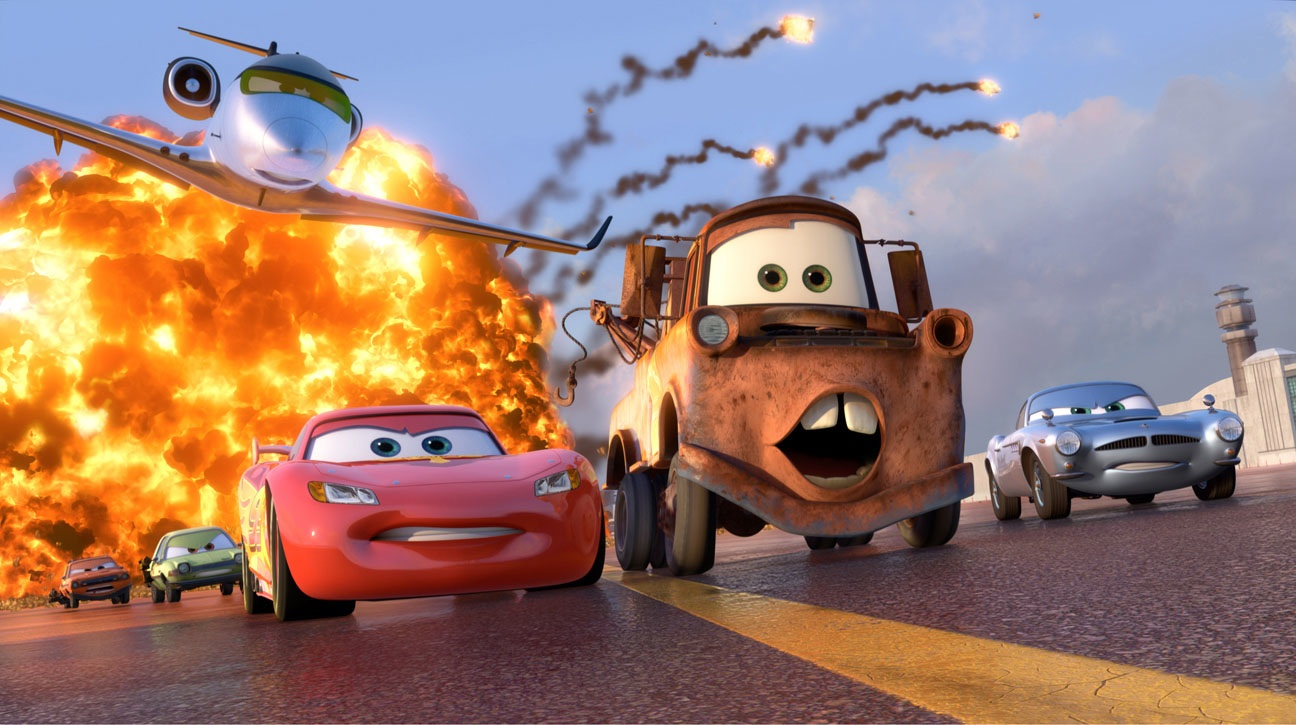 Aaron Hartline Cars 2 Poster And Image