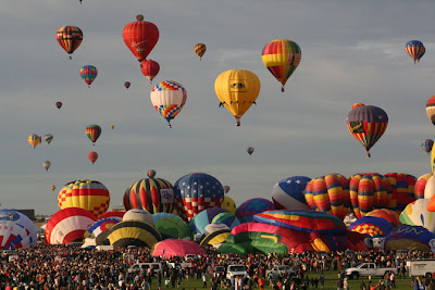 Aeronautics Showcased at Balloon Fiesta
