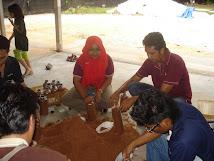 Masa kursus di Nas Agro farm