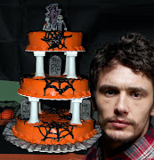 . Halloween issues and watching two Tim Burton movies, he made this cake.