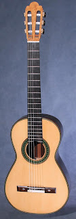 fe-18, torres fe-18, torres fe18, classical guitar, kenny hill, hill guitar company, hill torres, 630mm string length