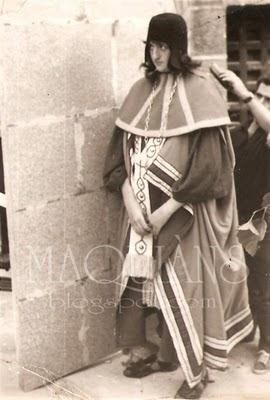 Miguel López de extra para Cotolay en Ribadavia 1965