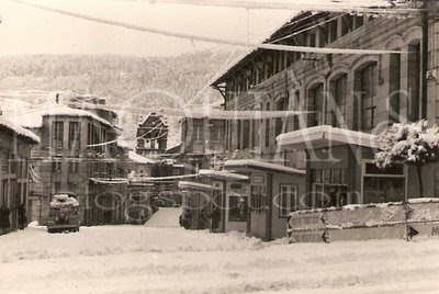 Nieve en Ribadavia Feb 1963