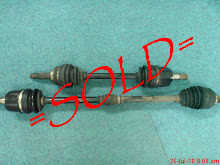 wira 1.6 drive shaft sold