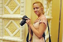 2010 Une photographe à l' OPen de Moscou