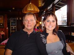 Avec ma fille Sophie à Strasbourg