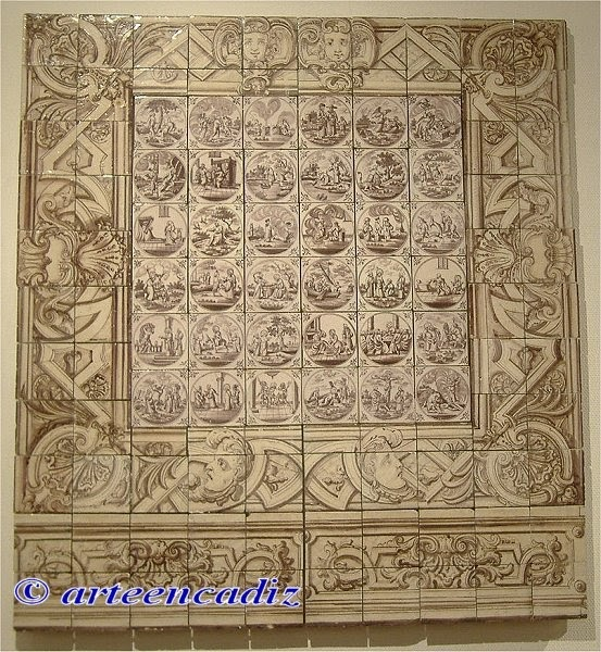arte en c diz azulejos de delft convento de santa mar a ForAzulejos Cadiz
