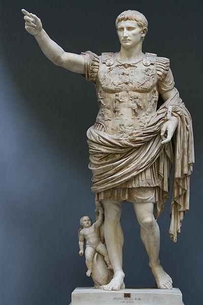 Arte torreherberos comentario de augusto de prima porta for Augusto roma