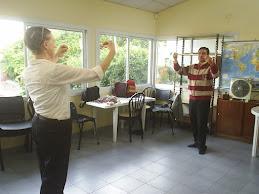Aprendemos a bailar folklore...
