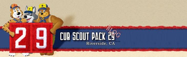 Cub Scout Pack 29, Riverside CA