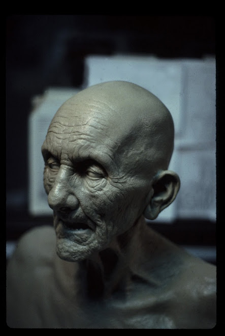 puppet head sculpt for 'hellraiser 4'