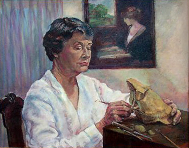 portrait of mama