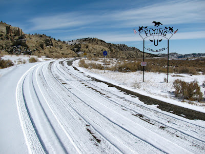 Gooseberry Road, Wyoming