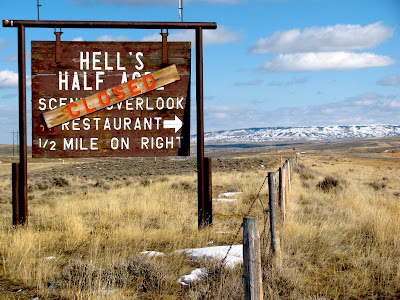 Hell's Half Acre, Wyoming