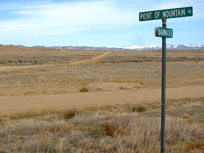 Badwater Road, Point of Mountain Road, Wyoming