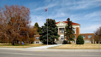 Big Horn County Court House, Basin, Wyoming