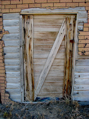 doors and windows, Shoshoni, Wyoming