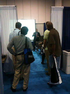 AAMI 2010 Awarepoint Product Showcase: standing room only!