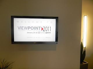 Welcome to Viewpoint 2011!