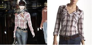 camisas vaqueras