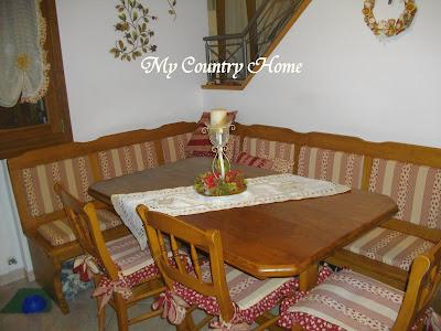 My country home post dedicato - Panca ad angolo per cucina ...