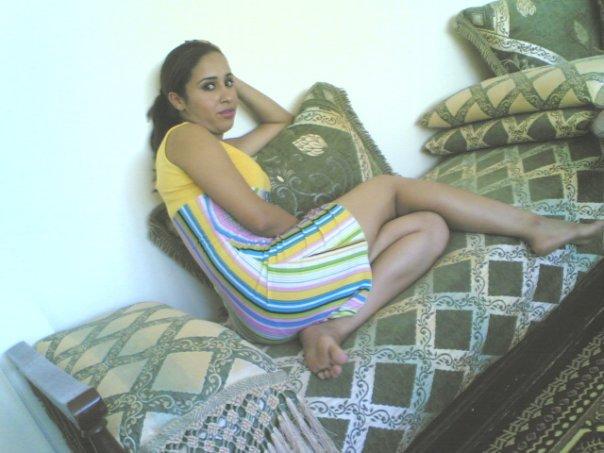 ba voila  sur un salon marocain