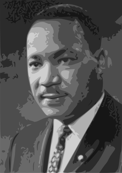 "Happy Martin Luther King Jr. Day! ""Hatred paralyzes life; love releases it."