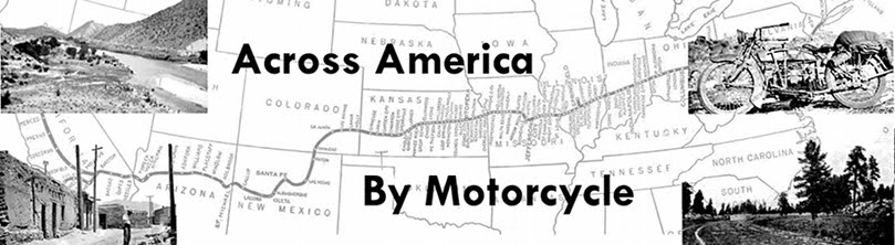 Across America By Motorcycle