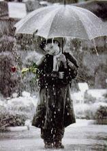 La lluvia mi musa inspiradora
