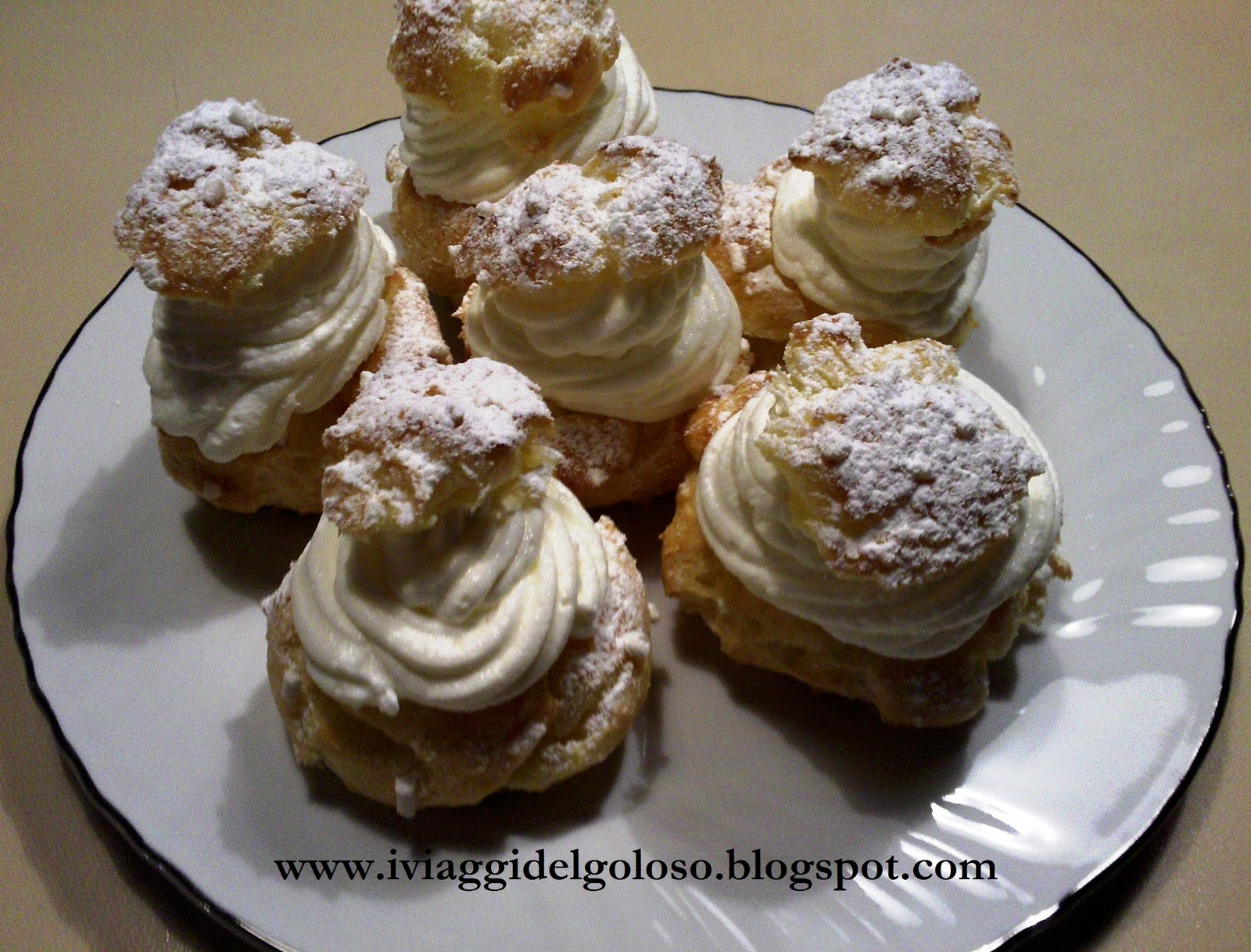 Cavolini con panna montata for Siti ricette dolci