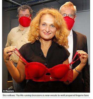 防毒奶罩 - 防毒請戴奶罩