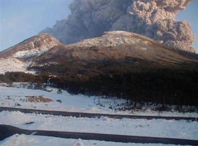 霧島火山爆發