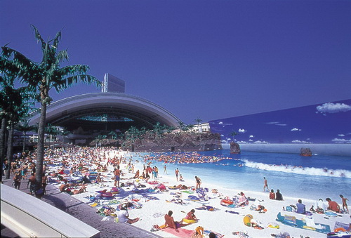 1001Places: Japans Indoor ManMade Beach