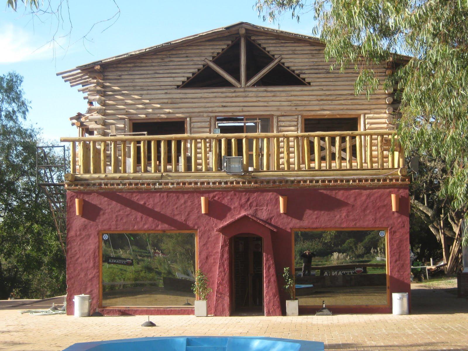 Construccion de cabaas en madera casa de troncos holidays oo - Construccion casas de madera ...