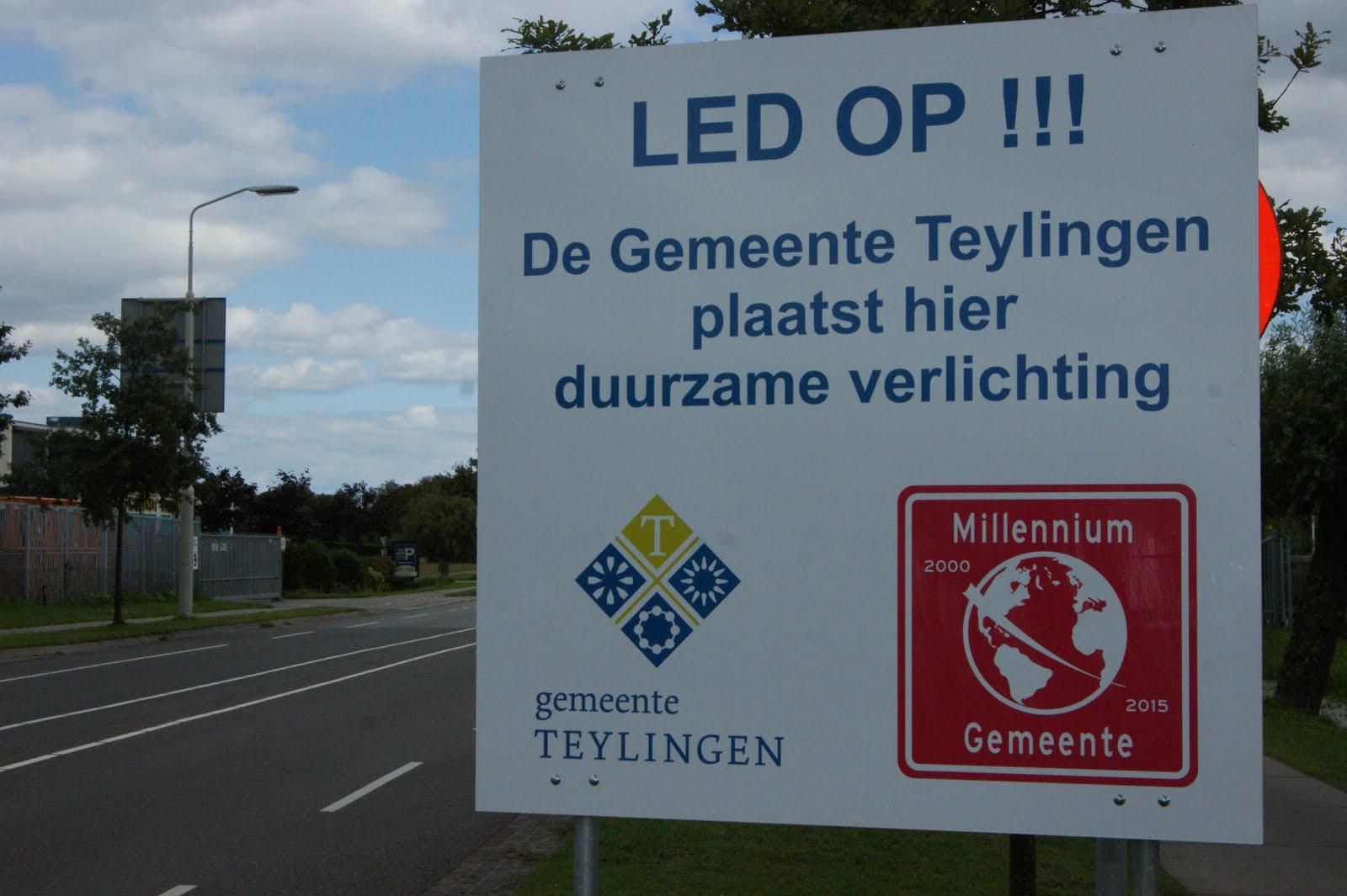 Dé lokale en regionale nieuwssite: Gemeente gaat voor LED