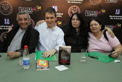 Tras la presentación de los libros de Alejandro Maciel y Amanda Pedrozo