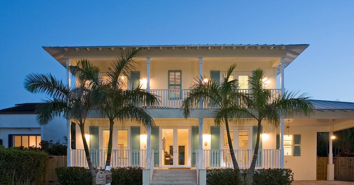 Tropical Resort Living Key Biscayne Home Plantation Style