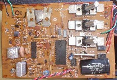 Placa (PCB) do Telejogo