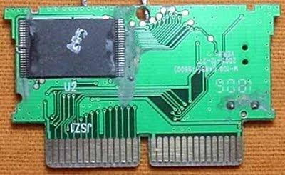 Placa do Cartucho - Lado do processador