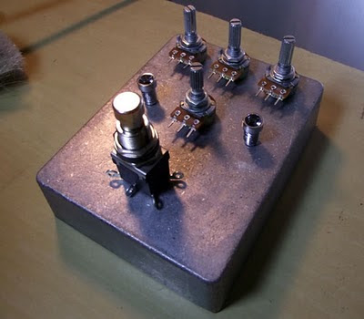 Caixa pedal de efeitos